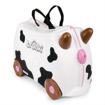 Frieda Trunki Ride-On Suitcase (Cow)