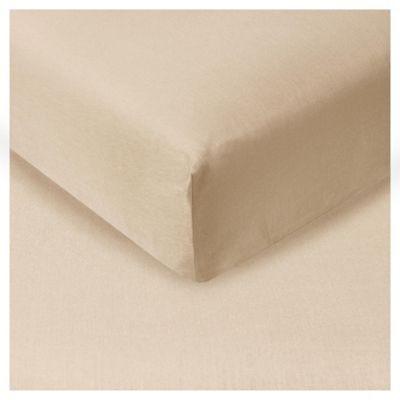 Tesco Fitted Sheet Sand, Kingsize