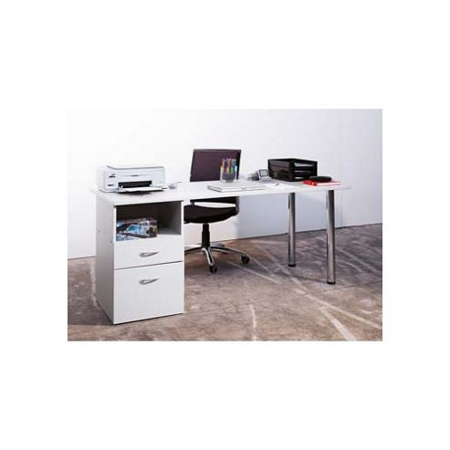 Ciatti Office Desk with Door and Drawer