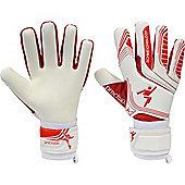 Precision Gk Schmeicology Red Shadow Junior Goalkeeper Gloves - White