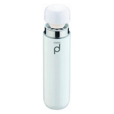 Grunwerg Drinkpod Vacuum Flask, 0.3L, White