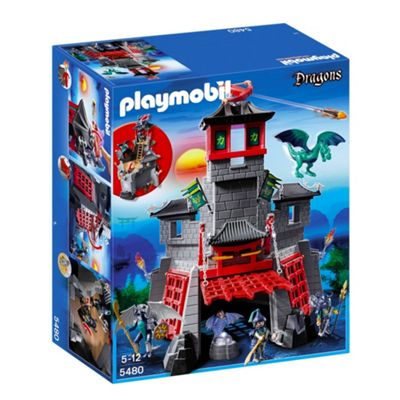 Playmobil Secret Dragon Fort 5480