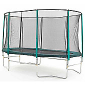 Skyhigh 8ft x 14ft Oval Trampoline and Enclosure
