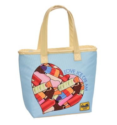 Walls Tote Style Lunch Bag, Love Ice Cream