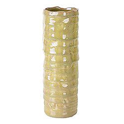 Bahne Vase Ceramic Light Green Textured 28x10cm