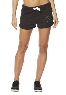 F&F Active Believe In Yourself Sweat Shorts Charcoal Grey 6