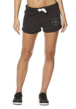 F&F Active Believe In Yourself Sweat Shorts - Charcoal Grey