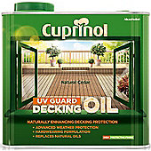 Cuprinol UV Guard Decking Oil - Natural Cedar - 2.5 Litre