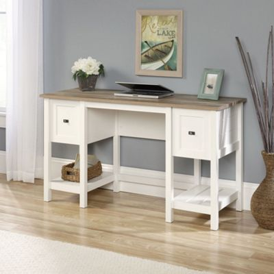 DSK Shaker Style Desk Soft White