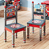 Fantasy Fields- Lil Fire Fighters Set Of 2 Chairs