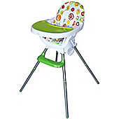 Bebe Style Deluxe 3 in 1 Highchair & Junior Chair & Booster - Green