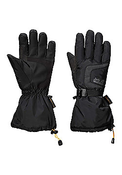 Jack Wolfskin Mens Texapore Winter Glove - Black