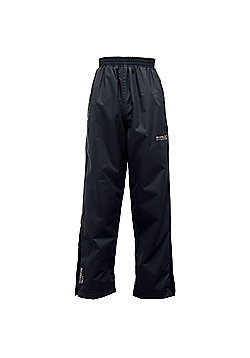 Regatta Kids Chandler Waterproof Overtrousers - Black
