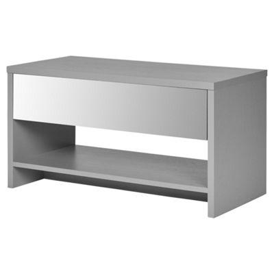 Gossington Mirror Effect Coffee Table - Grey