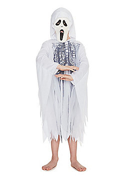 F&F Ghost Halloween Costume - White
