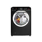 Hoover Washing Machine, DXOA49C3B, 9kg load with 1400 rpm - Black with Chrome Door