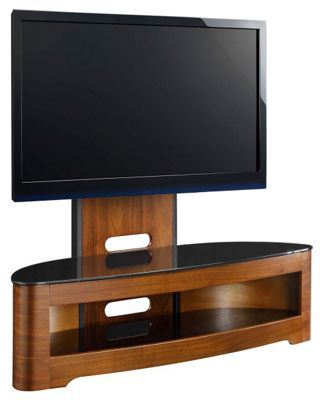 JualJF209 Cantilever Walnut TV Stand