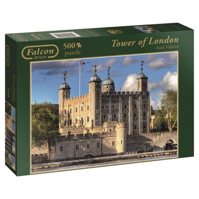 Falcon de luxe Tower of London Jigsaw Puzzle (500-Piece)