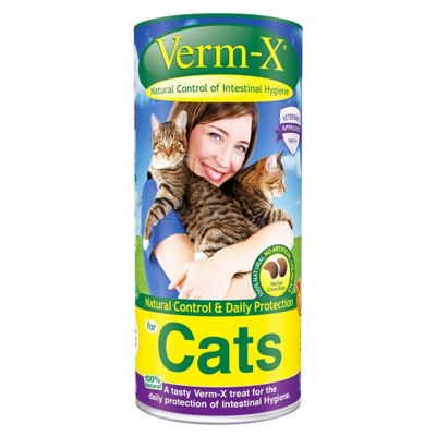 Verm X Herbal Crunchies For Cats (120g)