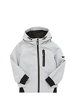 F&F Ripstop Hooded Jacket - Grey