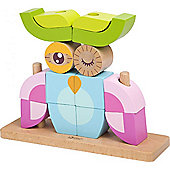 Classic World Animal Block Sets - Owl