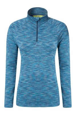 Mountain Warehouse Isocool Dynamic Womens Half Zip Top ( Size: 14 )