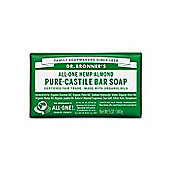 Dr Bronners Organic Almond Soap Bar 140g
