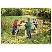 Plum Octagonal Wooden Activity Table