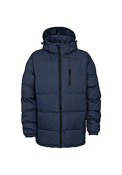 Trespass Mens Clip Padded Winter Jacket - Navy