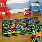 Matrix Happy Town Washable Play Rug 80x120cm