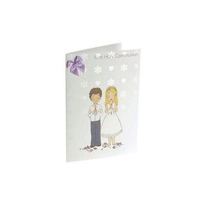 Child's 1st Holy Communion Card