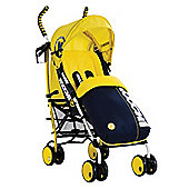 Koochi Speedstar Pushchair, Primary Yellow