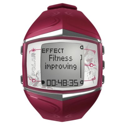 Polar FT60 Sports Watch/Heart Rate Monitor, Purple