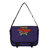 Asking Alexandria Eyeballs Purple AA Messenger Bag
