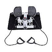 Homcom Mini Stepper Exercise Legs Arms Thigh Toner Training Fitness