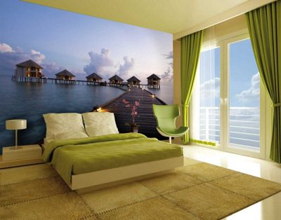 1Wall Giant Maldives Wall Mural
