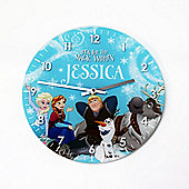 Frozen Personalised Clock