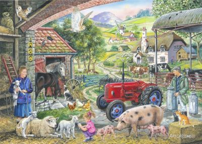On The Farm – Find The Difference No 2 Puzzle