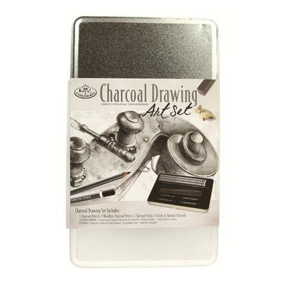 Royal Tin Sets - Charcoal Drawing