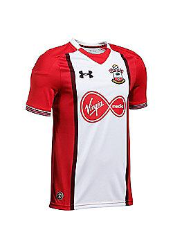 Under Armour Southampton FC 2017/18 Kids Home Short Sleeve Shirt White - White