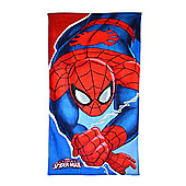 Character Spiderman Printed 100% Cotton Beach Towel