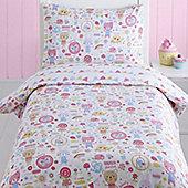 Bloom - Animals, Bunting and Floral Toddler / Junior Bedding Bundle 4.5 Tog 120 x 150