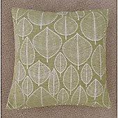 Mason Grey Kirkton Green Cushion Cover - 43x43cm