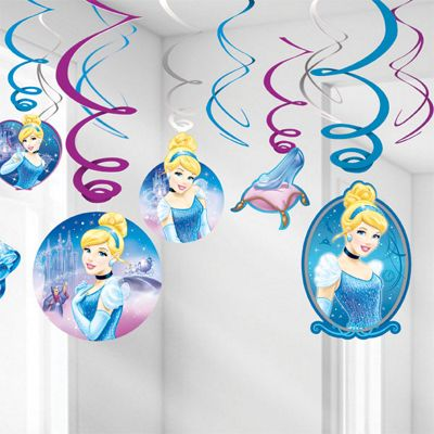 Discontinued - Cinderella Hanging Swirls - 60cm