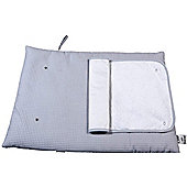 Clair de Lune Roly Poly Travel & Change Mat (Waffle Grey)
