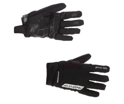 2013 Altura Progel Waterproof Cycling Gloves Black XXLarge