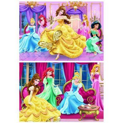 Disney Princess - 2 in 1 Puzzle