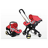 Doona Infant Hybrid Car Seat Group 0+ - Love Red