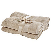 Tesco Hygro Cotton Bathroom Textiles - Taupe