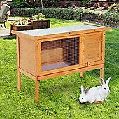 PawHut Wood Rabbit Hutch Shelter Garden Guinea Pig Elevated House